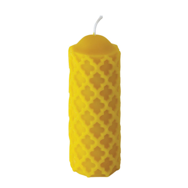 100% Pure Beeswax Festive Candles