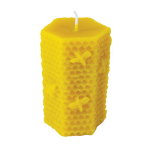 100% Pure Beeswax Beehive Candles