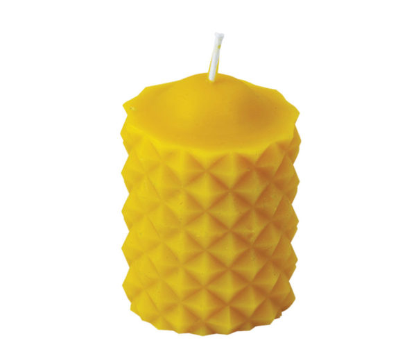 100% Pure Beeswax Pyramids Candles