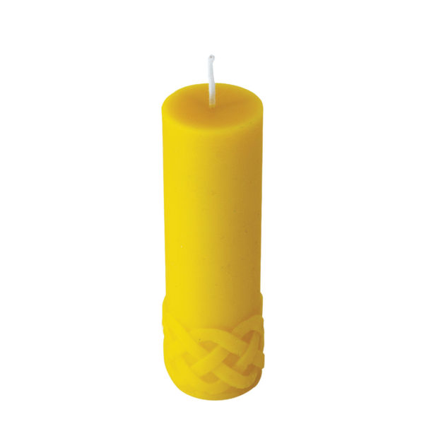 100% Pure Beeswax Tangled Candles