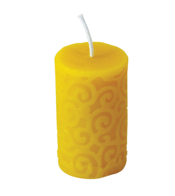 100% Pure Beeswax Wave Candles