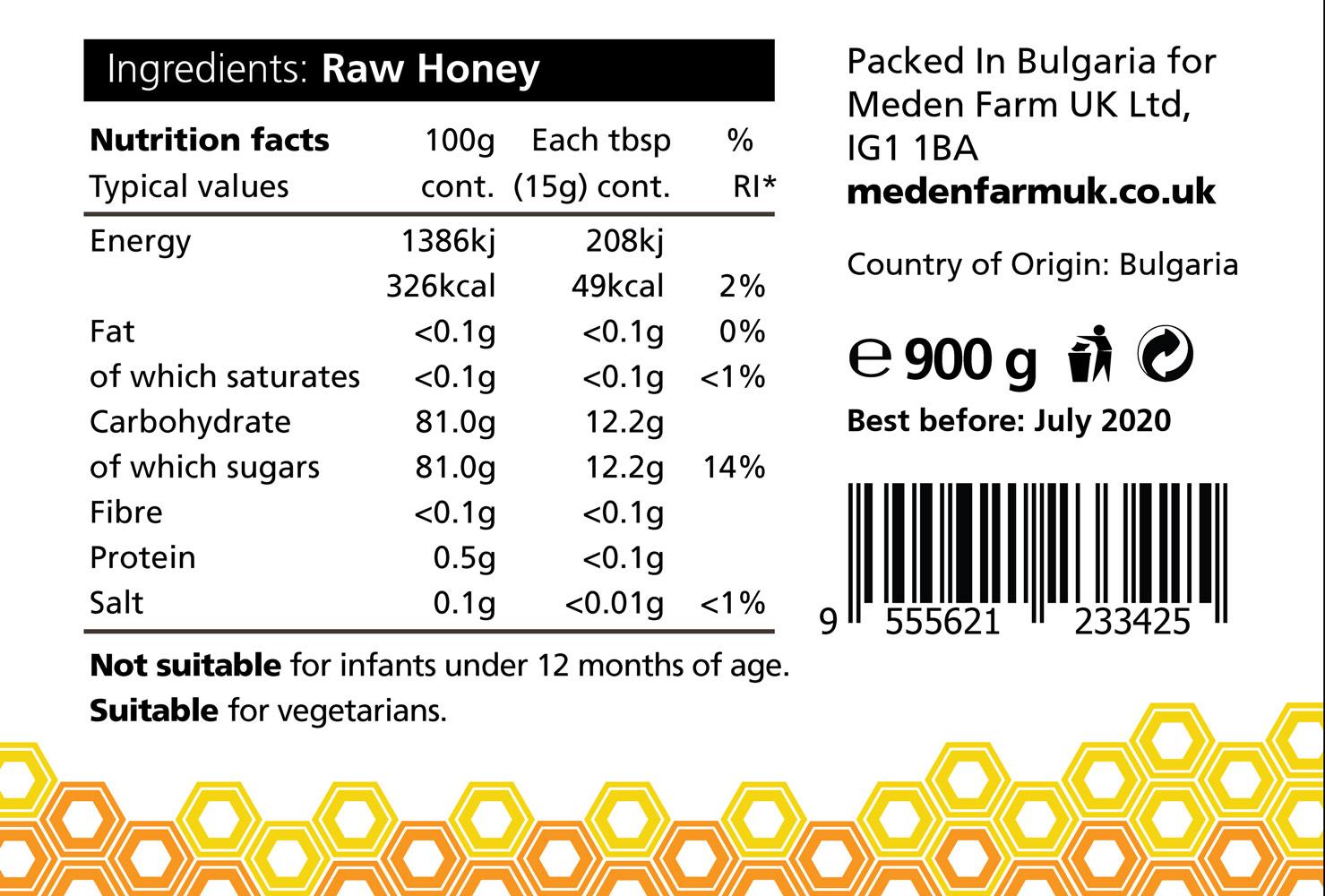 Wildflower Honey 450g