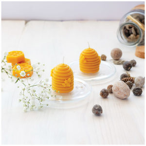 100% Pure Beeswax Swarms Candles