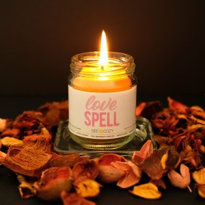 Love Spell Beeswax Candle