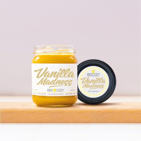 Vanilla Madness Beeswax Candles